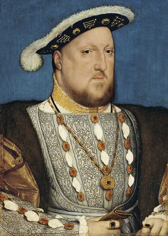 Henry VIII of England c. 1537 painted by Hans Holbein the Younger (1497/1498–1543)