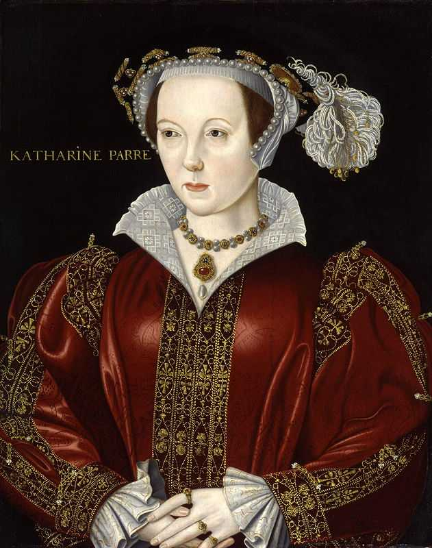 Miniature Portrait of Catherine Parr, Henry's sixth and last wife by Hans Holbein the Younger, 1540