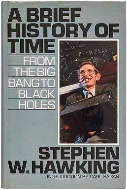 'A Brief History of Time - From the Big Bang to Black Holes' by Stephen Hawking published in 1988 (© Stephen Hawking)