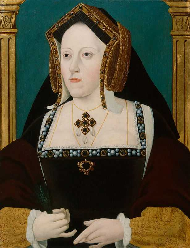 A painting of 'Katherine of Aragon' attributed to Joannes Corvus (1490–)