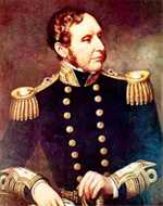 Robert Fitzroy, the Captain of the Beagle, ended up as a Rear Admiral