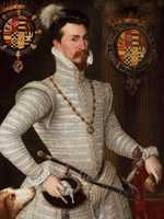 Rumours of romance between Elizabeth and Robert Dudley, the Earl of Leicester, abounded during Elizabeth's reign.