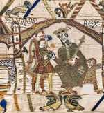 Edward the Confessor in the Bayeaux Tapestry