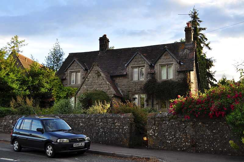Rowling's childhood home, Church Cottage, Tutshill, Gloucestershire (© Nicholas Mutton, CC BY-SA 2.0)