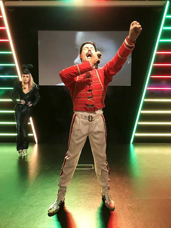 Freddie Mercury at Madame Tussauds in London