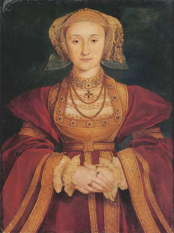 Portrait of Anne of Cleves by Hans Holbein the Younger (1497/1498–1543), 1539