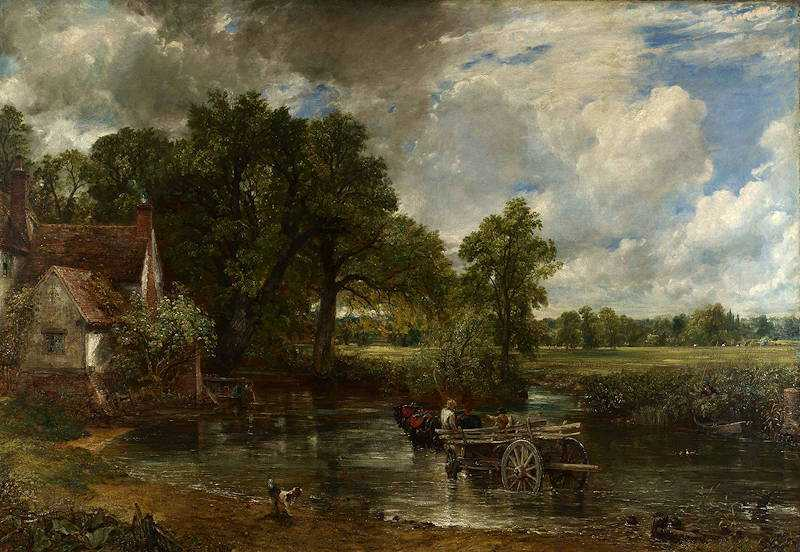 The Hay Wain (1821) by John Constable, National Gallery, London