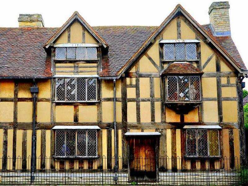 William Shakespeare's house in Stratford-upon-Avon.
