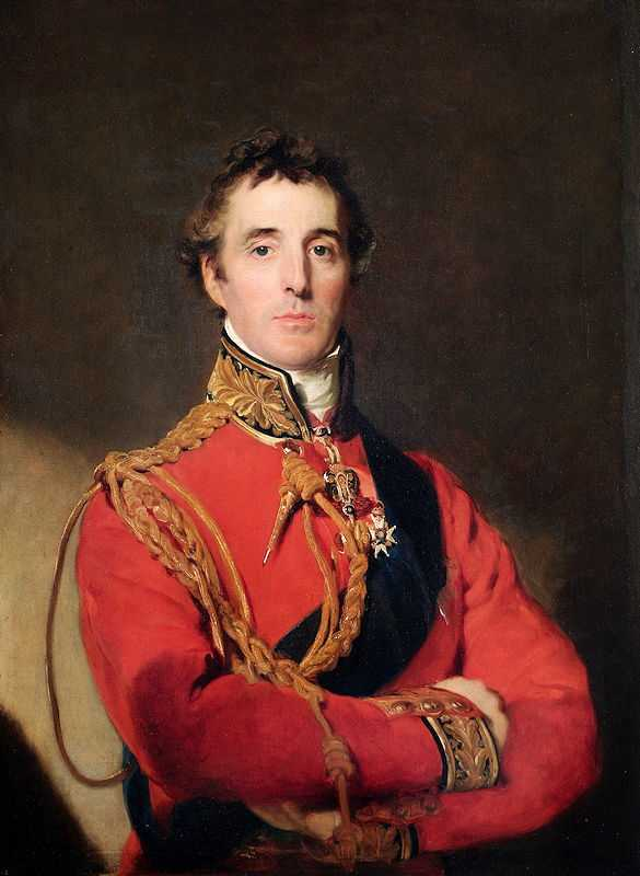 The Duke of Wellington is standing at half-length, wearing the Field Marshal's uniform. Painted in 1815-1816 by Thomas Lawrence