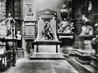 The shrine to William Shakespeare at Poet's Corner in Westminster Abbey